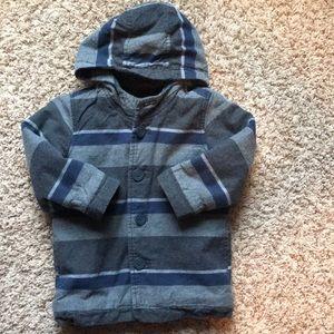 3t boys striped coat.